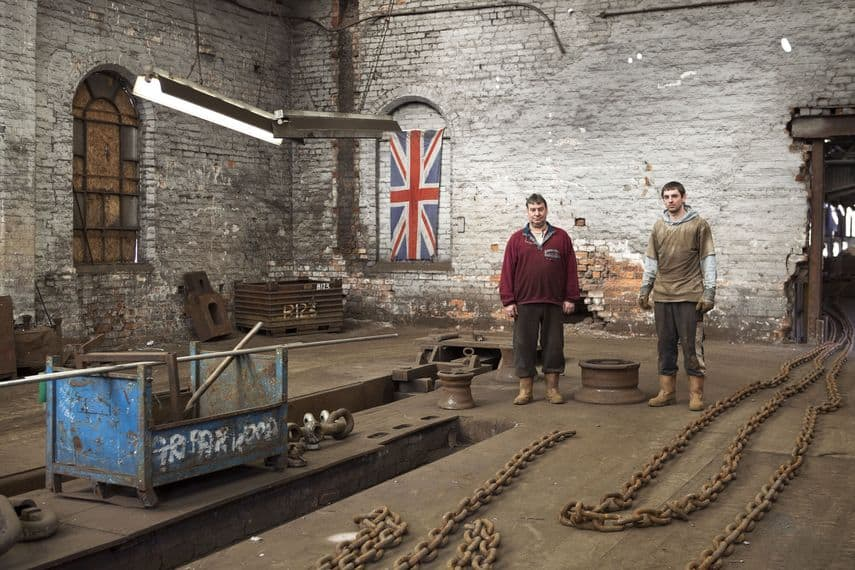Griffin Woodhouse Ltd, chain makers. Father & son, Brian & Ross