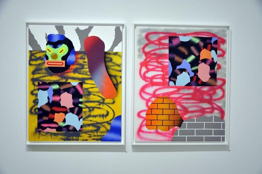 Grip Face - Viejo Continente 01 (left); Viejo Continente 02 (right)