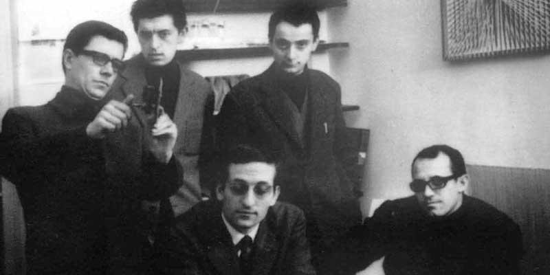 Grupo N - Alberto Biasi, Ennio Chiggio, Toni Costa, Edoardo Landi and Manfredo Massironi, 1960