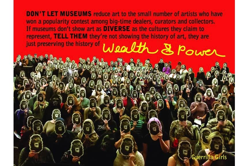 Guerrilla Girls - WealthPower, 2016