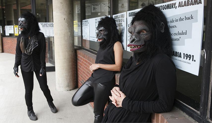 Guerrilla Girls at Abrons Art Center, New York