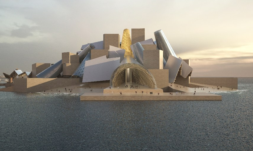 Louvre and Guggenheim Rise in Abu Dhabi Amidst a 27-billion