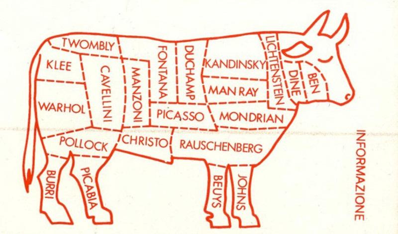 Guglielmo Achille Cavellini - Informazione, c. 1970, courtesy of MoMA Library