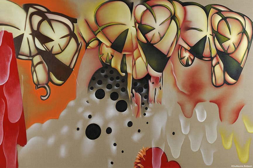 Guillaume Bottazzi exhibition