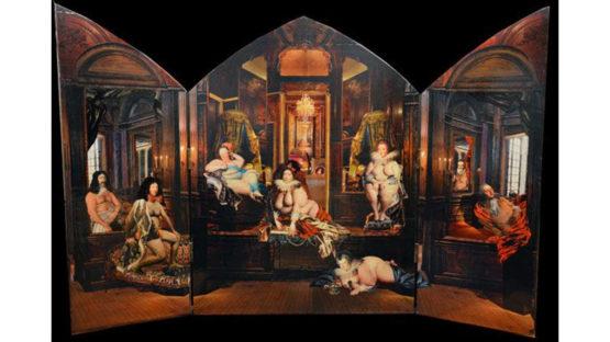 Guillaume Pelloux - Le Retable de la Reine Marie Therese, 2014