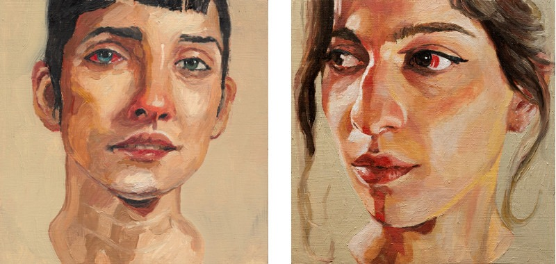 Guim Tio Zarraluki - Untitled (Left) / Bianca, 2014 (Right)