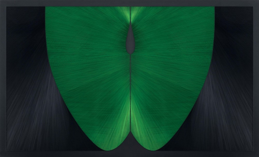 Gulay Semercioglu - Green Apple, 2012. Image via Leila Heller Gallery