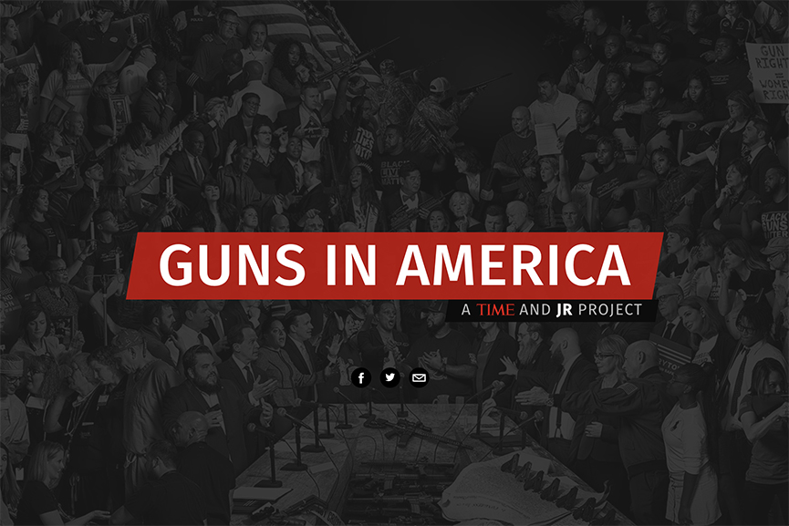 Guns in America, a TIME and JR Project