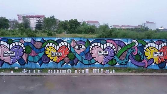Gus Bill - mural