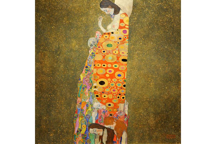 Gustav Klimt - Hope, II, 1907