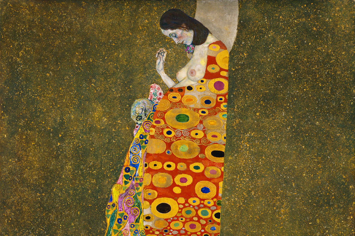 Gustav Klimt - Hope, II, Google Art Project