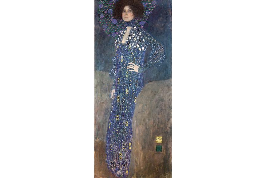 Gustav Klimt - Portrait of Emilie Louise Floge