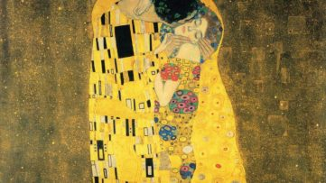 Gustav Klimt - The Kiss (detail), 1907-1908