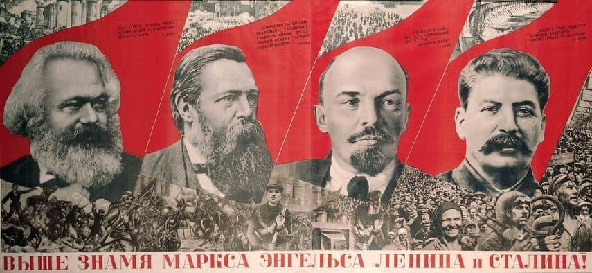 Gustav Klutsis, Under the Baner of Marx, Engels, Lenin and Stalin 1933