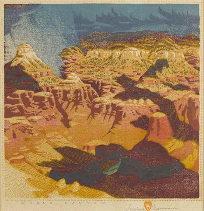 Gustave Baumann-Grand Canyon-1920