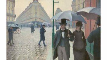 Gustave Caillebotte - Paris Street Rainy