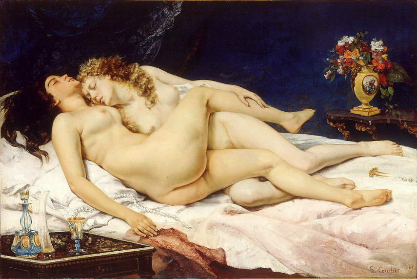 Gustave Courbet - The Sleepers, 1866