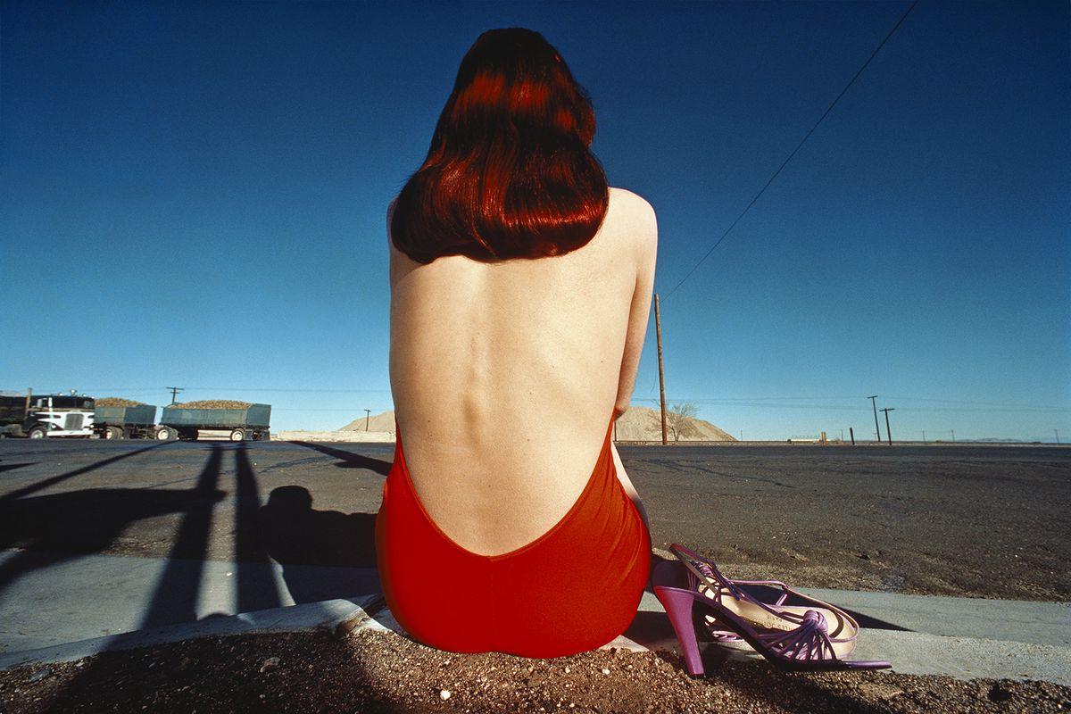 Guy Bourdin - Charles Jourdan Ad Campaign, 1977