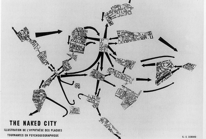 Guy Debord - Naked City - Image via pinimgcom