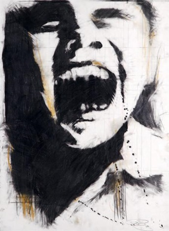 Guy Denning-Screaming Head 1-2007