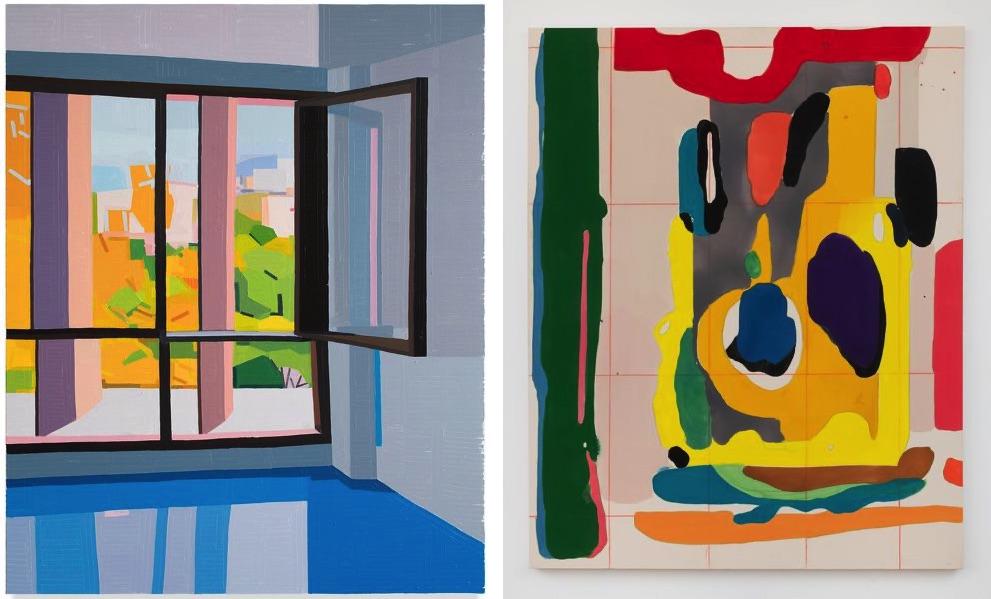 Guy Yanai - Cité Radieuse Le Corbusier, 2019, Matt Connors - Untitled, 2020