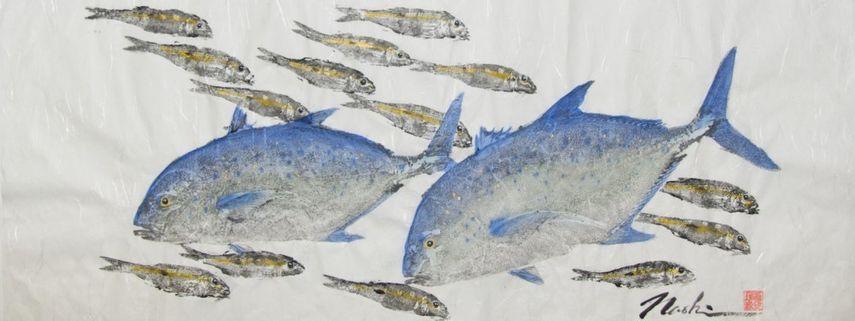 Gyotaku by Naoki Hayashi, the technique through history