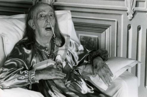 Helmut Newton-Salvador Dali-1986