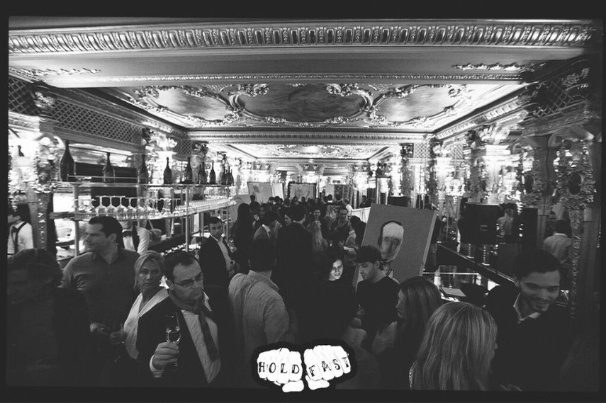 HOLD FAST ARTS CLUB event at Café Royal Hotel