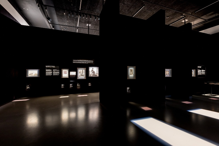 M.C. Escher, installation view at The Museum of Friesland. Photo by Ruben van Vliet