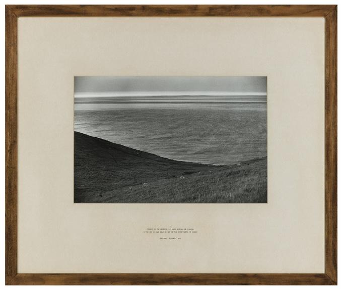 Hamish Fulton - France on the Horizon