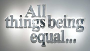 Hank Willis Thomas - All Things Being Equal