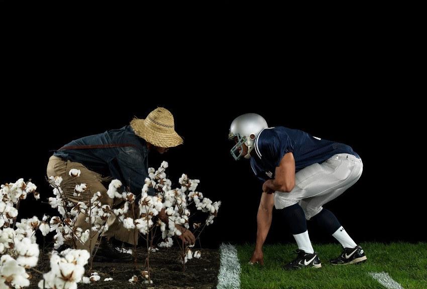 Hank Willis Thomas - Cotton Bowl, 2011, jack and jack