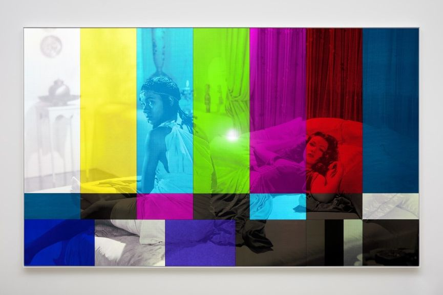 Hank Willis Thomas - Sundown (Color Bar), 2019, taking place during Frieze Art Fair Week 2020 in Los Angeles