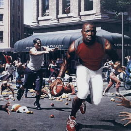 Hank Willis Thomas-The Liberation of T.O. I'm not goin back ta' work for massa in dat' darn field-2003