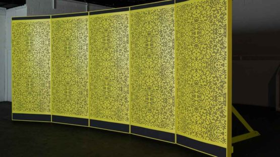 Hannah Sawtell - Osculator, 2012 (Installation View) - Copyright Institute of Contemporary Arts, London