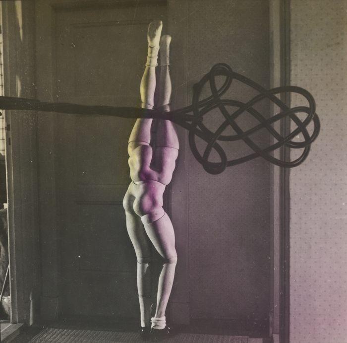 Hans Bellmer-La Poupee (With Carpet Beater)-1937