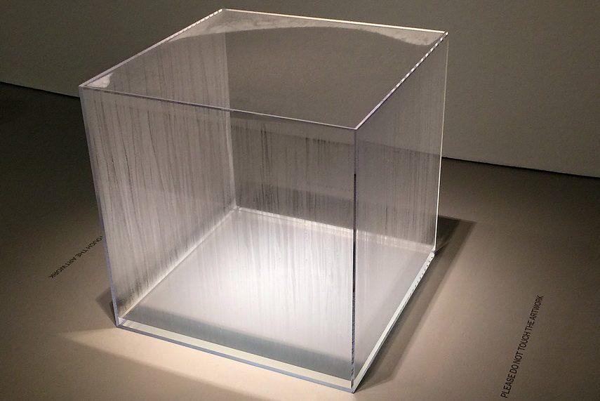 Hans Haacke - Condensation Cube
