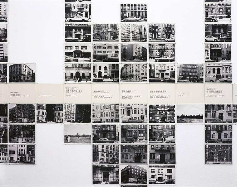 Hans Haacke - Gallery-Goers' Residence Profile, Part 2, 1969– 71
