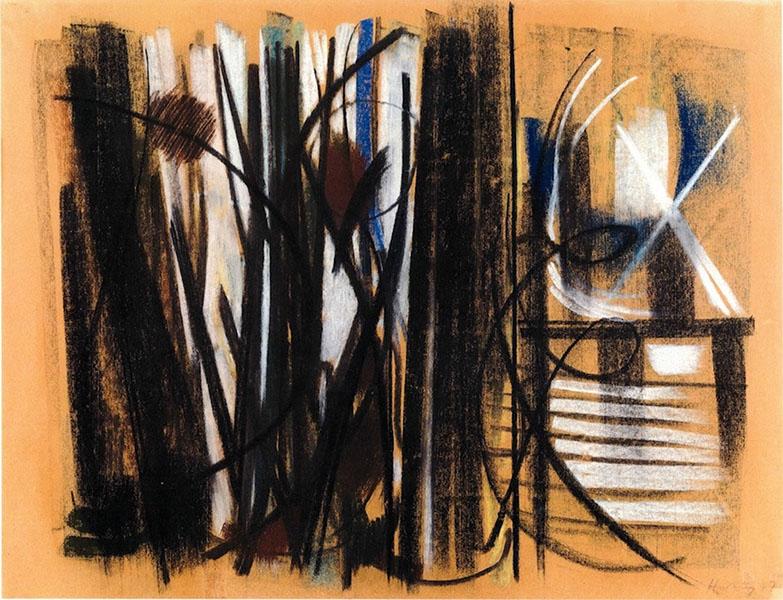 Hans Hartung - Sans Titre, 1947