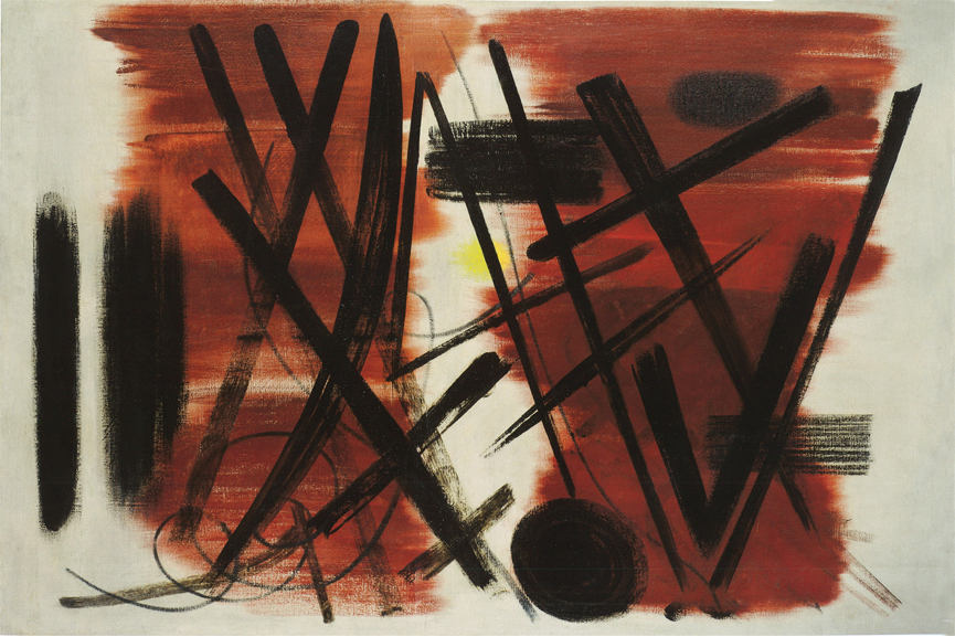 Hans Hartung, Patrick Heron Exhibition, Waddington Custot Galleries