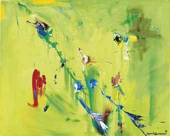 Hans Hofmann-Dance of the Butterflies-1963