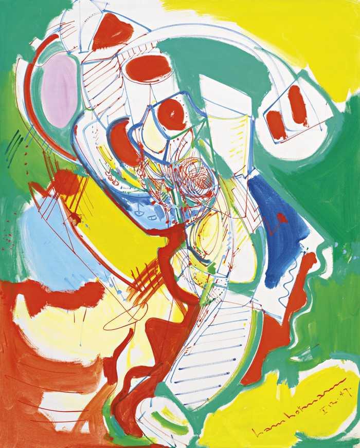 Hans Hofmann-Nuclear-1947