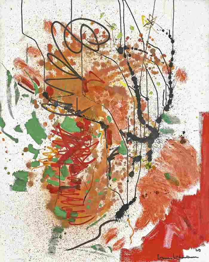 Hans Hofmann-Undulating Nebula-1960