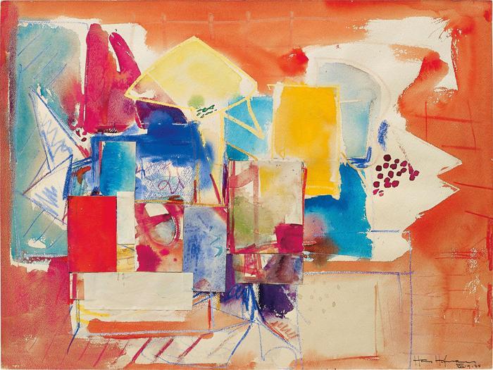 Hans Hofmann-Untitled (M-647/1)-1944