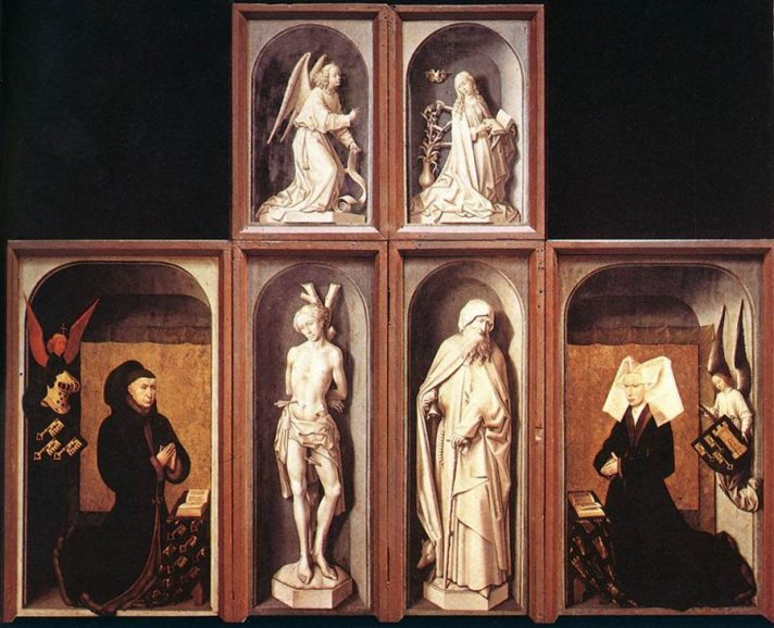 Hans Memling - Last Judgment Triptych, Outer Wings