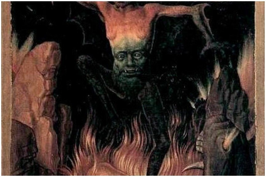 Dark scary paintings by Hans Memling