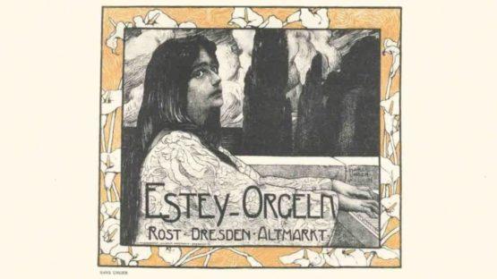 Hans Unger - Estey Organs - 1897 (detail)