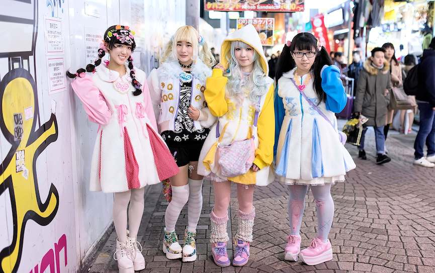 Harajuku Girls - Kawaii Street Fashion via tokyofashion