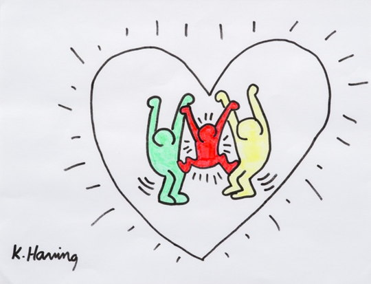 Keith Haring-Sans Titre-1986