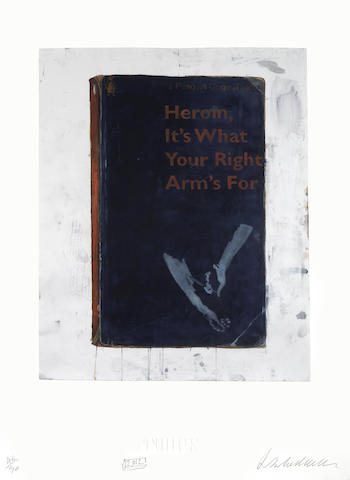 Harland Miller-Heroin, It's What Your Right Arm's For-2012